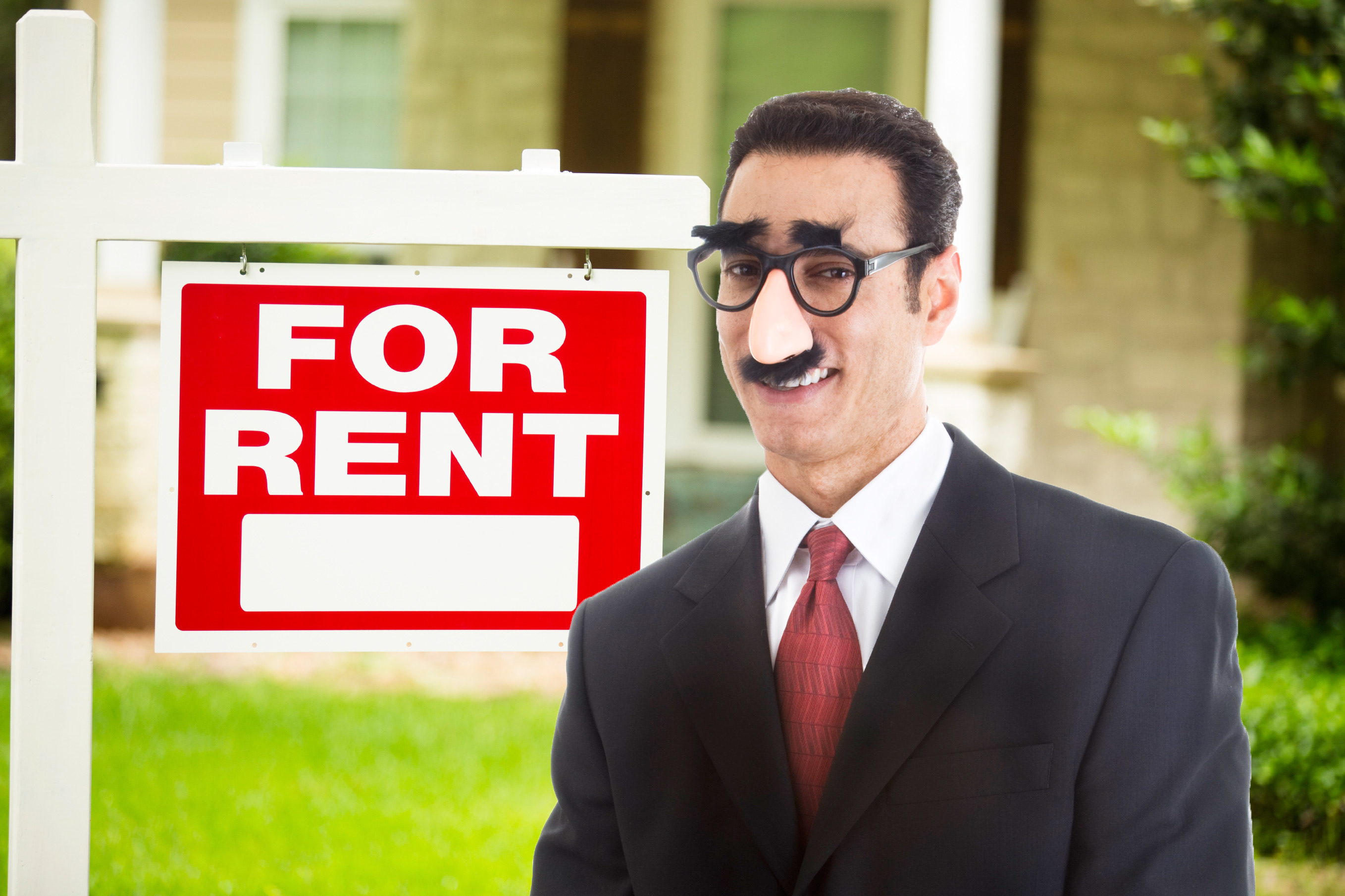 Fake real estate agent