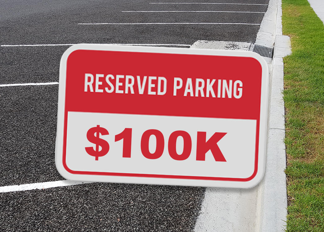 Cheapest Listing in San Francisco? A $100k Parking Spot